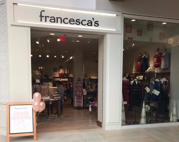Francesca's Haul