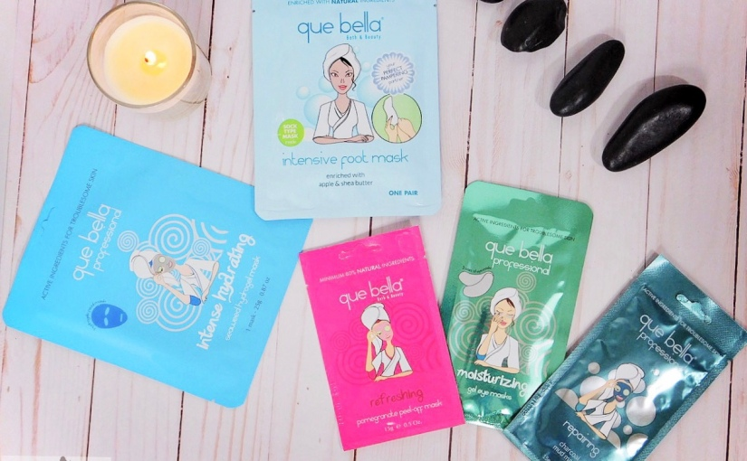 Mask Off Monday: Que Bella Masks